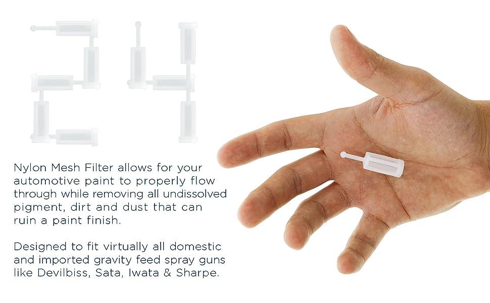 24 Nylon Mesh Filters Designed for all brands