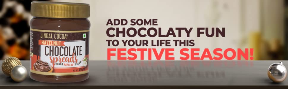 Jindal Cocoa Chocolate Hazelnut Cream Spread, 320 g