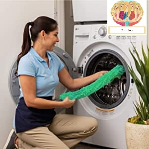washable fan mop cleaner