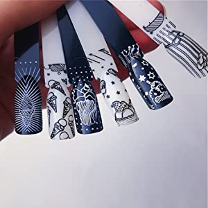 Dream Catcher Flower Star Feather Animal Nail Image Plate French Style Nail Art Stamping Plates
