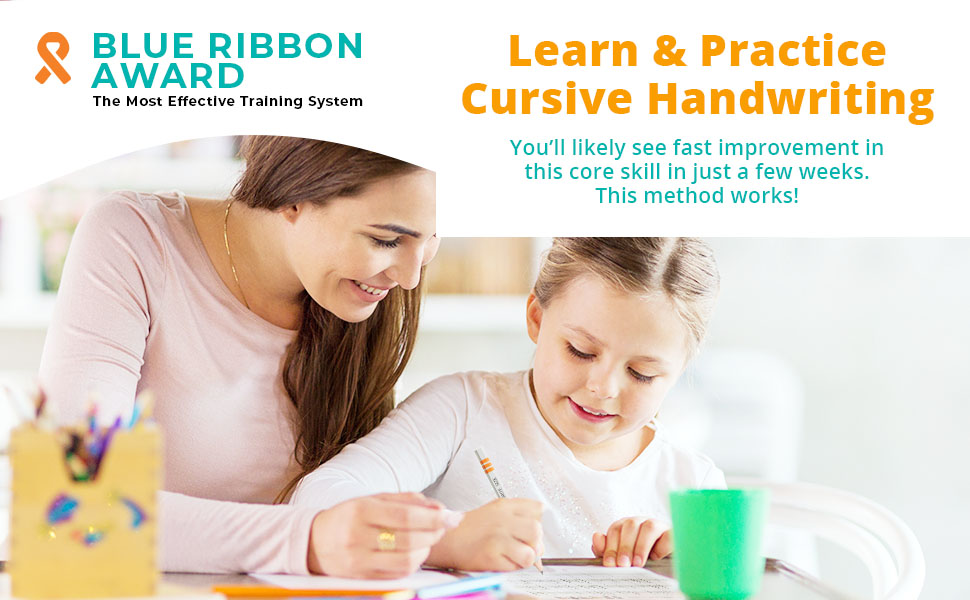 Learn & Practice Cursive Handwriting You'll likely see fast improvement in this core skill