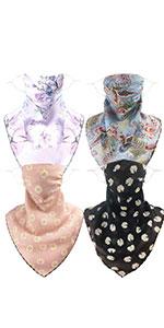 4Pcs women balaclava sun mask