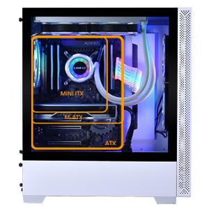 motherboard mb mobo support size atx matx mini itx micro atx ausu gigavyte arose amd intel cpu