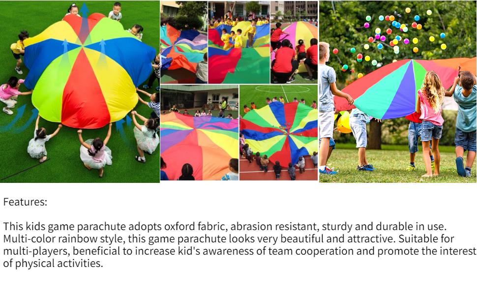 Forart 10 pi/èces parachute jouet enchev/êtrement jet gratuit jouet parachute chiffres enfants jouets volants jouets de plein air pour enfants adultes couleur al/éatoire