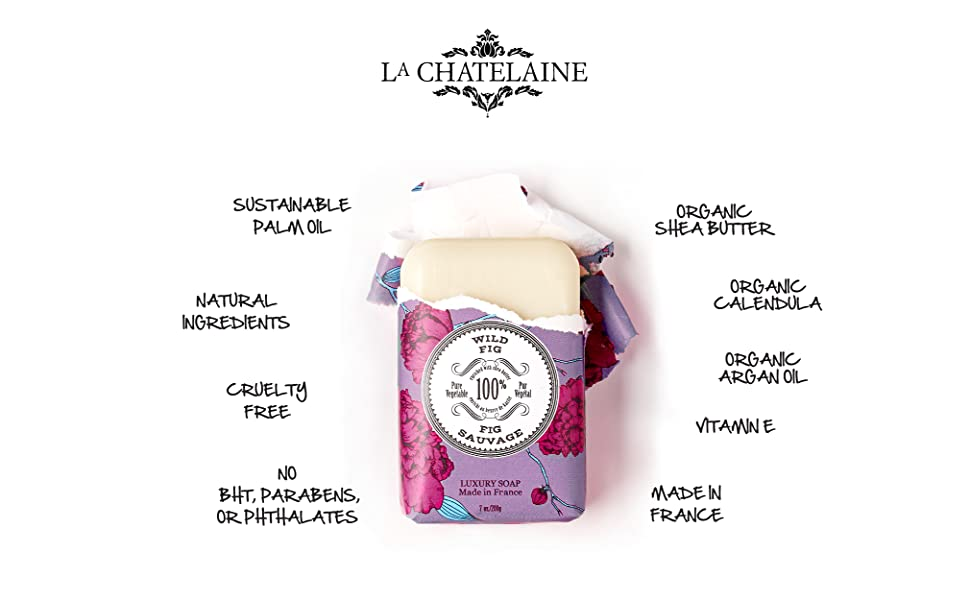 sustainable natural organic french bath body hand soap home gift france vegan vegetable plant clean
