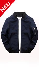 Men's sporty jacket.