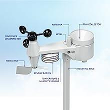 Logia 5-in-1 Outdoor Sensor