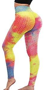Dye-Rainbow Leggings