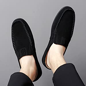 Go Tour Men's Comfortable Casual Slip on Loafer Shoes…