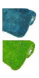 Badematte Badvorleger Badezimmerteppich Duschvorleger weich waschbar rutschfest farbecht wasserfest