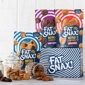 fat snax keto, ketogenic, low carb, snack, food, cookie, keto-friendly, no sugar, sugar free