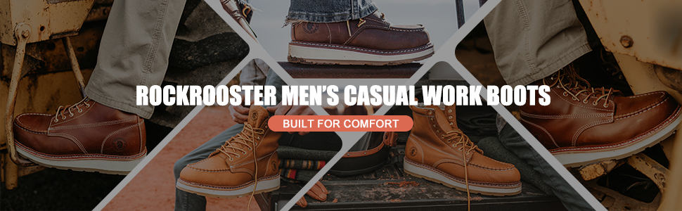 casual work boots