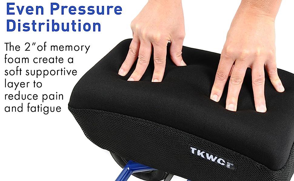memory foam knee pad cover knee walker knee scooter tkwc