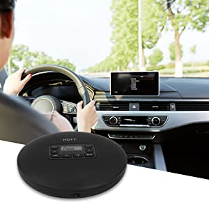 Portable CD Player for Car Use