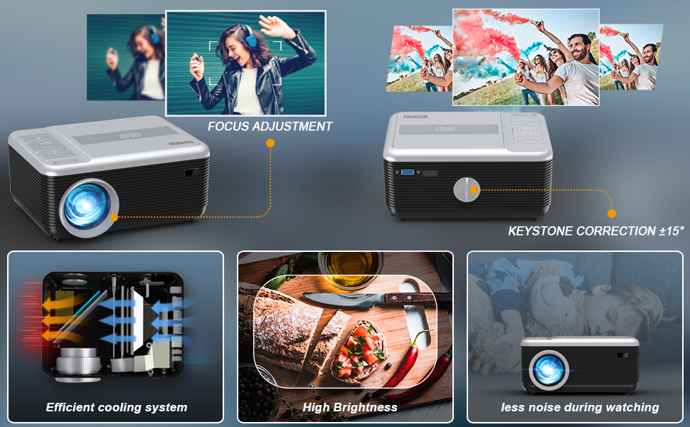 home cinema small video projectors for phone