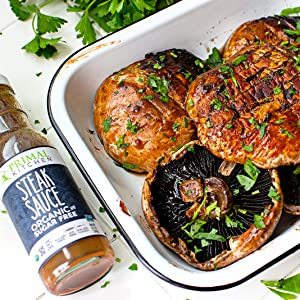 3-Ingredient Grilled Portobello Mushrooms