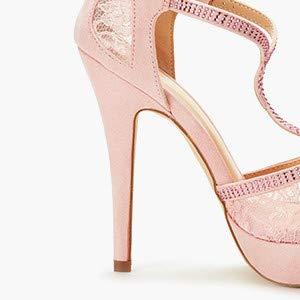 High Heel Fashion Stilettos Peep Toe Pump Heeled Sandals