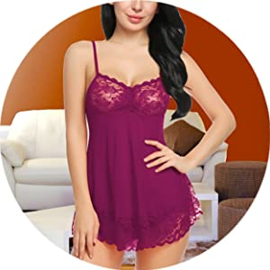 baby dolls nightwear for women honeymoon anniversary gift lingerie
