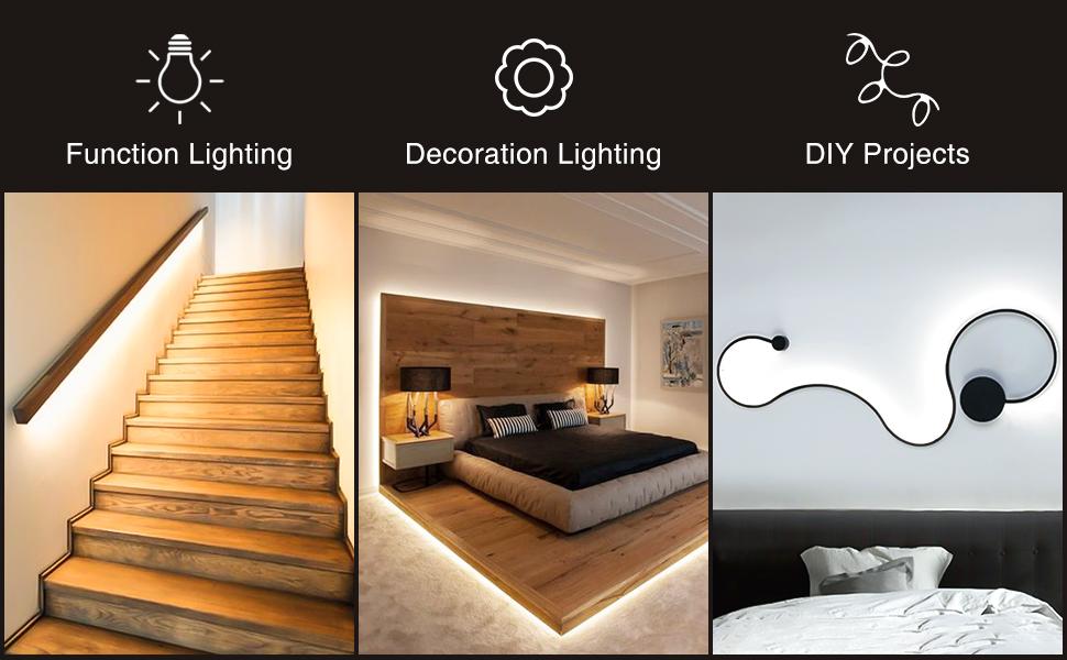 living room strip light