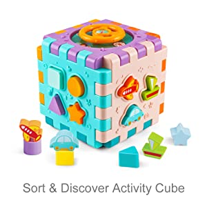 activity cube for 1 year old
