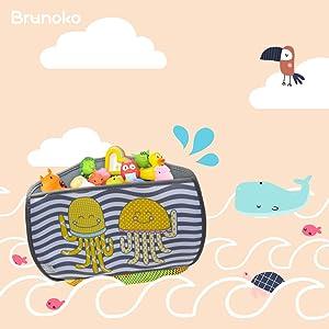 rangement jouet bain // jouet pour le bain // jouet bain bébé // filet jouets bain