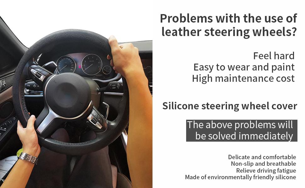 13 inch steering wheel cover