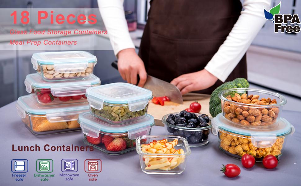 tuberware containers set glass pyrex storage containers with lids glass containers for meal prepping