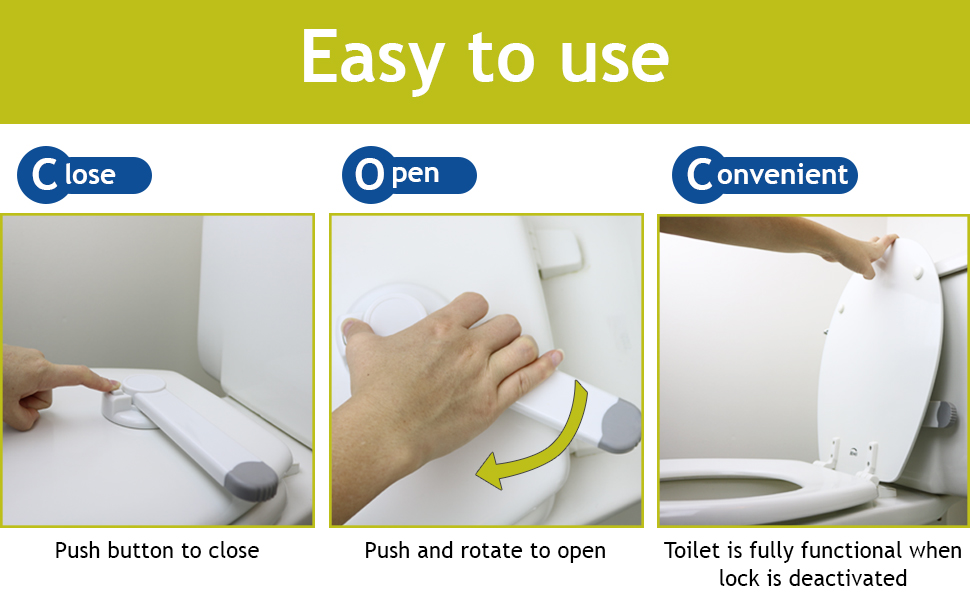 toilet locks