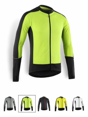 Color de las camisetas de ciclismo