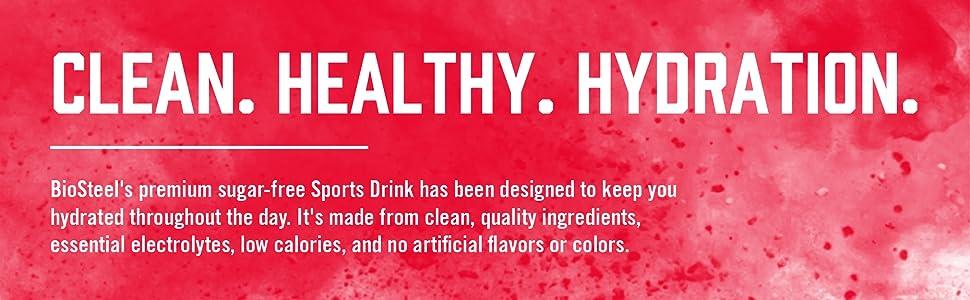 Clean Healthy Hydration