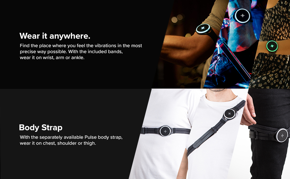 Metronome, Vibrating metronome, body strap, feel the beat, watch, wearable, Pulse, Soundbrenner