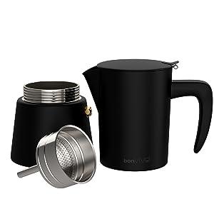 Enjoy our espresso maker Intenca