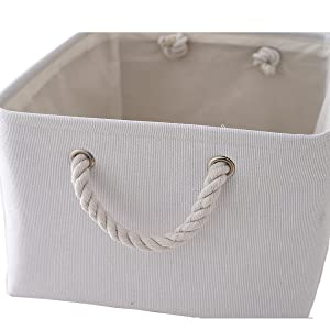 storage baskets with handles