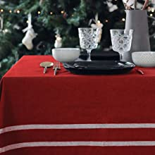 French Stripes Tablecloth