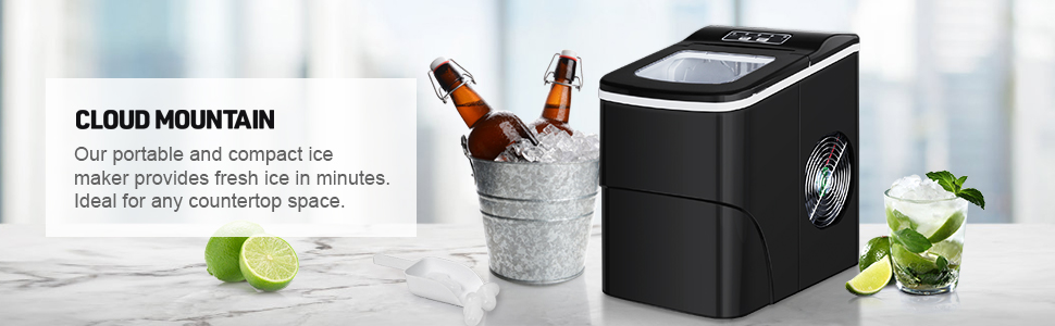 Portable Ice Maker Banner
