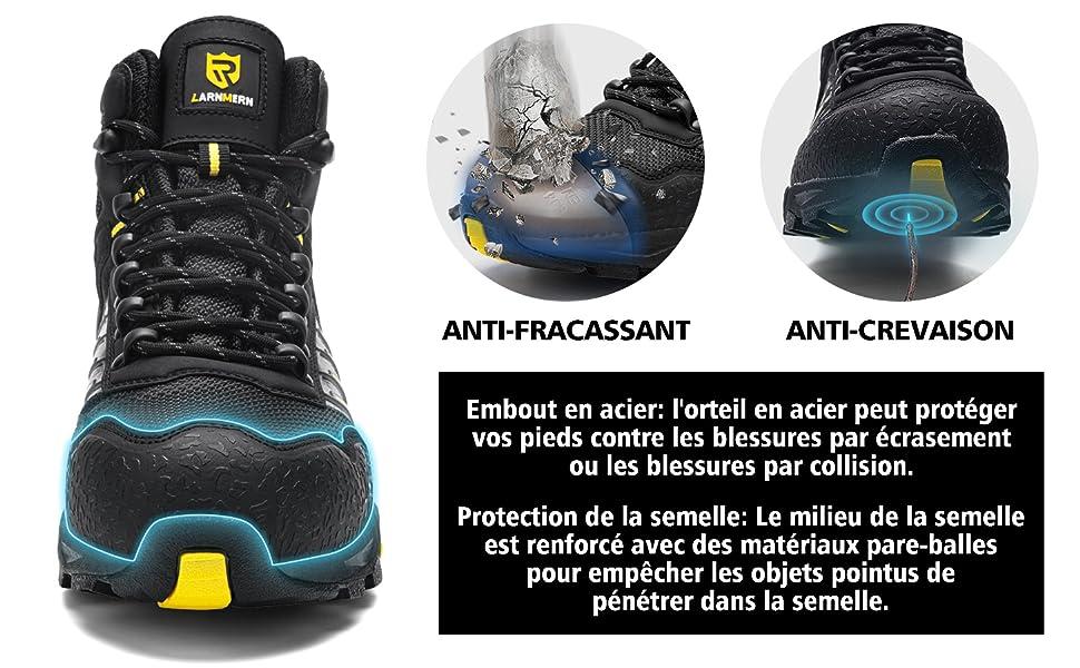 Chaussures de Sécurité Embout Acier