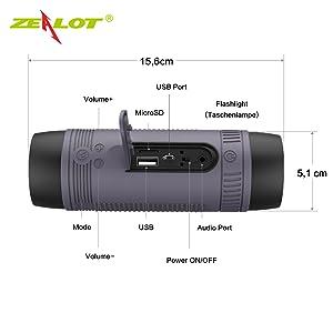 altoparlante wireless bluetooth