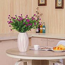desk flowers