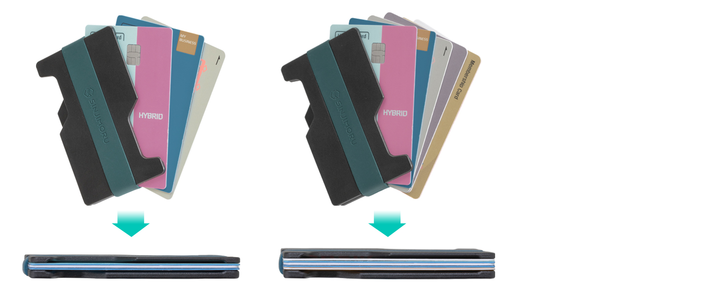mens minimalist wallet removalble Phone wallet for back of phone with wireless charging function
