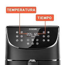 COSORI Freidora sin Aceite, Freidora Aire Caliente con 11 ...