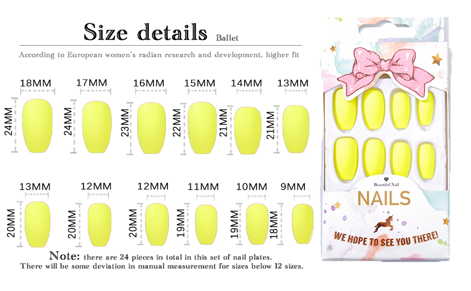 full cover fake nails art tips