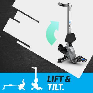 Lift & Tilt: Easily Stow Away