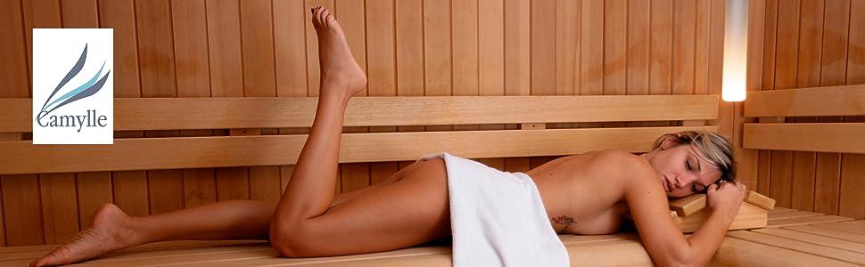 La détente absolue dans le sauna
