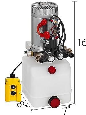 3 Quart Hydraulic Pump