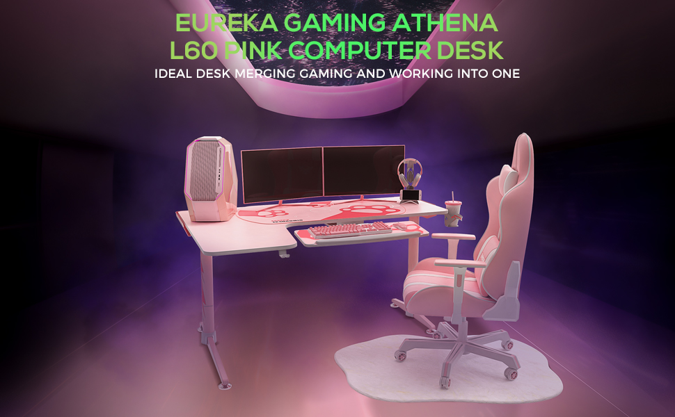 60 inch gaming desk