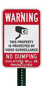 Warning No Dumping