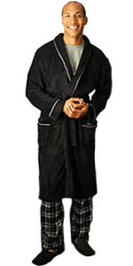 dressing gown polyester