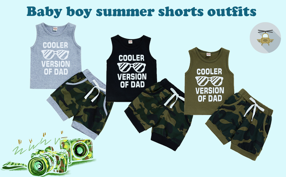 Baby boy summer outfits