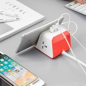 power strip with mobile stand