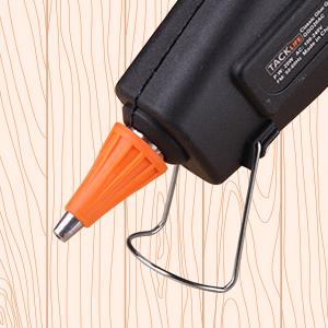 TACKLIFE-GGO60AC 60W Hei/ßklebepistole Hochtemperatur Lexible Trigger f/ür DIY Kunst und Handwerk Projekte und Kleine Reparatur Klebepistole mit 30 St/ück Klebesticks